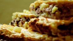 Как приготовить кубете – татарский пирог с мясом и картошкой