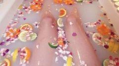 Апельсиновая ванна от целлюлита
