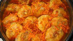 Ленивые пельмени в овощном соусе