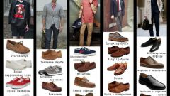 How to match men's shoes and clothing