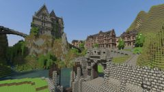 How to build a castle in minecraft