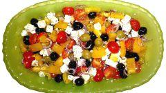 Как очень быстро приготовить греческий салат