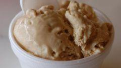 Как сделать заварной крем для мороженого