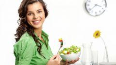 Правильное питание в зависимости от возраста