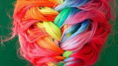 Как выкрасить волосы пастельными мелками?