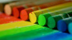 Как сделать цветные мелки