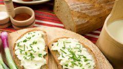 Бутербродики с творожной начинкой