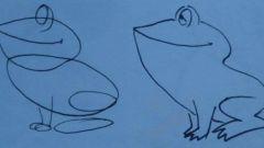 Как нарисовать лягушку карандашом поэтапно?