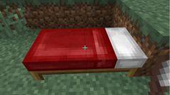 Как сделать кровать в minecraft?