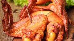 Как правильно закоптить курицу