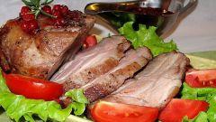 Как приготовить говядину запеченную
