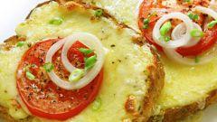 Как приготовить бутерброды с сыром и помидорами