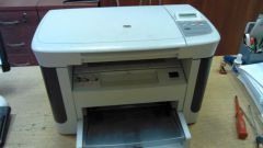 How to disassemble printer HP LaserJet M1120 MFP (manual)