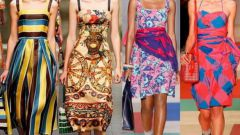 Летняя мода: стильные сарафаны 2013