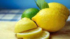 Лимон для красоты ногтей