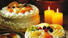 Как приготовить торт с кремом и фруктами