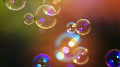 Как приготовить мыльные пузыри в домашних условиях