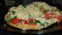 Как приготовить пиццу «минутка»
