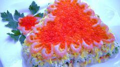 Рецепт салата из морепродуктов
