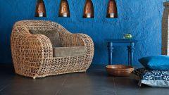 Плетеные предметы в интерьере: красота и изысканность