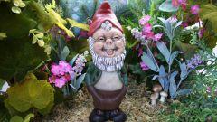 Как декорировать сад керамическими фигурками
