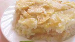 Как приготовить рисовую запеканку с овощами
