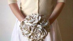 Как сделать белую бумажную розу