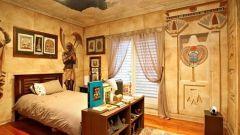 Как оформить спальню в египетском стиле