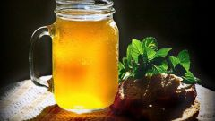 How to cook kvass from dried starter