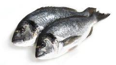 Готовим рыбу дораду в соли с миндальным соусом