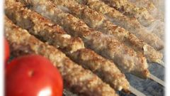 How to cook shish kebab on the grill
