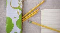 Как сделать красивый пенал в школу
