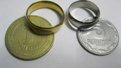 Кольцо из монеты своими руками