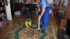 Как очистить ковер от грязи и пятен