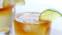 Как сделать имбирный коктейль