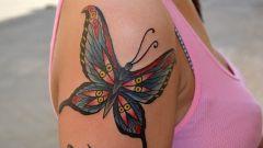 Что означает татуировка бабочка
