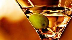 С чем лучше пить мартини