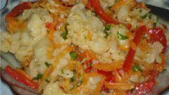 Как приготовить цветную капусту по-корейски