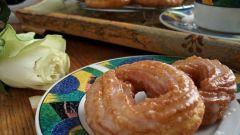Заварные пончики в глазури
