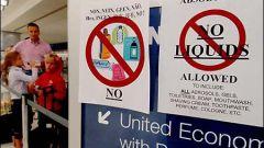 Запрет на провоз жидкостей на борту самолета
