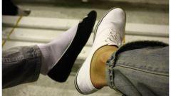 Как визуально уменьшить размер ноги
