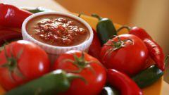 Домашняя аджика из помидор