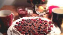 """Как приготовить торт """"Павлова"""""""