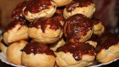 Как приготовить заварное печенье