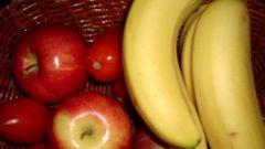 Что приготовить из бананов и яблок