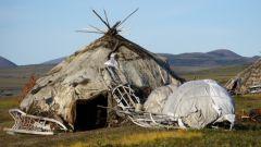 Как выглядит традиционное жилище чукчей