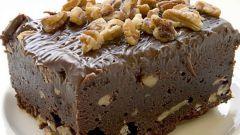 Как приготовить шоколадный десерт «Брауни»