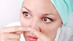 Причины черных точек на носу