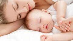 Как выспаться с грудным ребенком