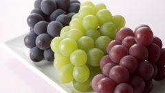 Сколько калорий в разных сортах винограда